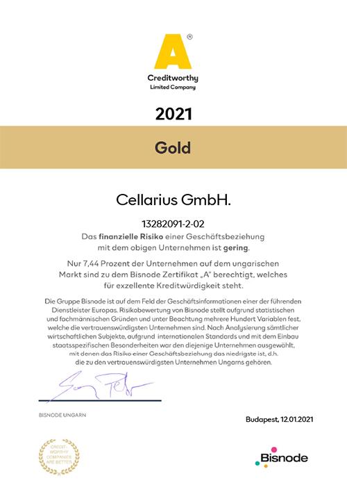 2021014 Cellarius Kft.n 2021 - Bisnode gold tanúsítvány - Hogy működik? - 3